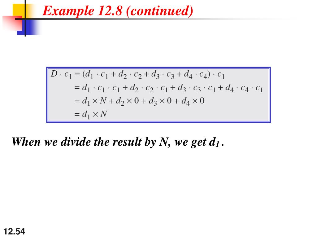 Example 12.8 (continued)