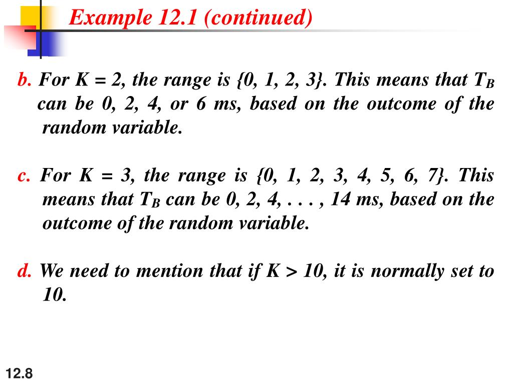 Example 12.1 (continued)