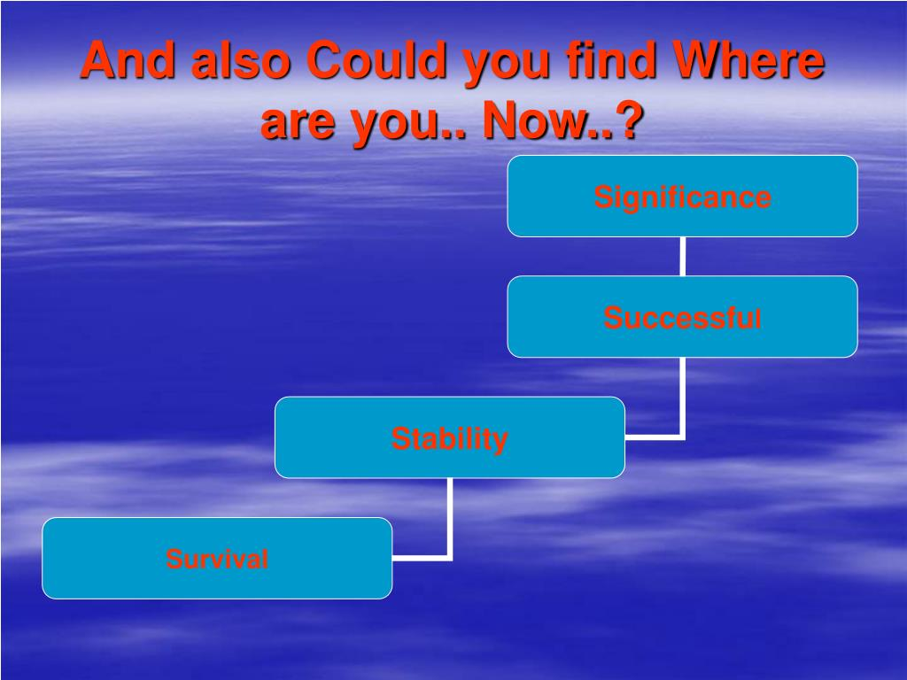 And also Could you find Where are you.. Now..?