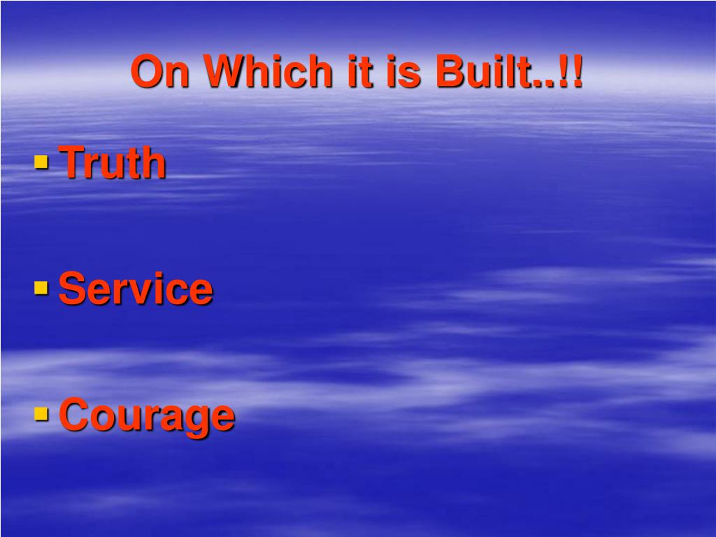 On Which it is Built..!!