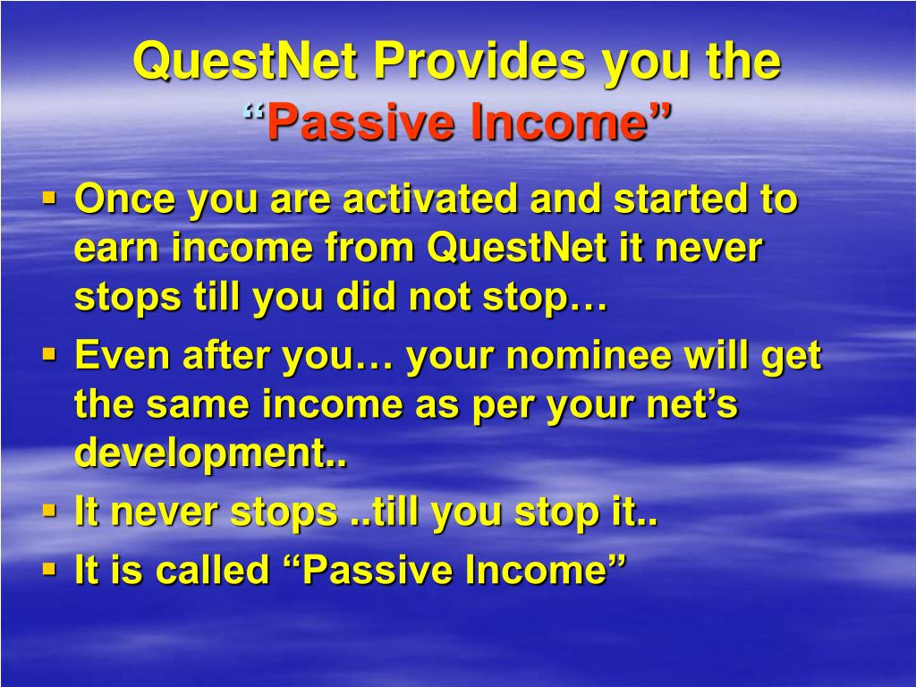 QuestNet Provides you the