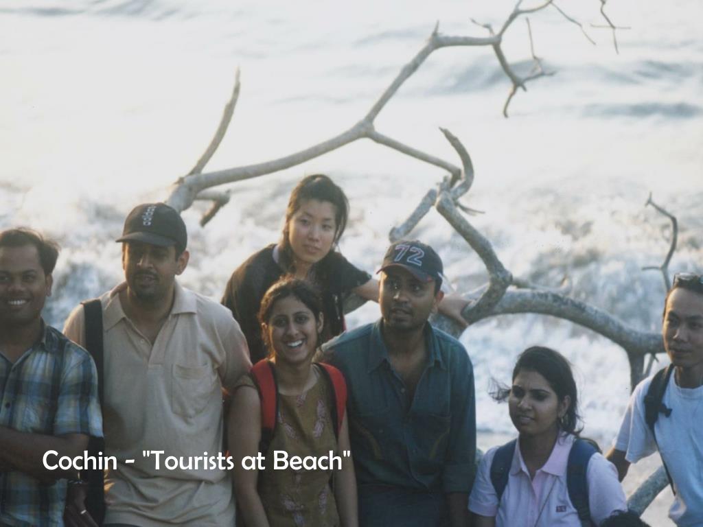 "Cochin - ""Tourists at Beach"""