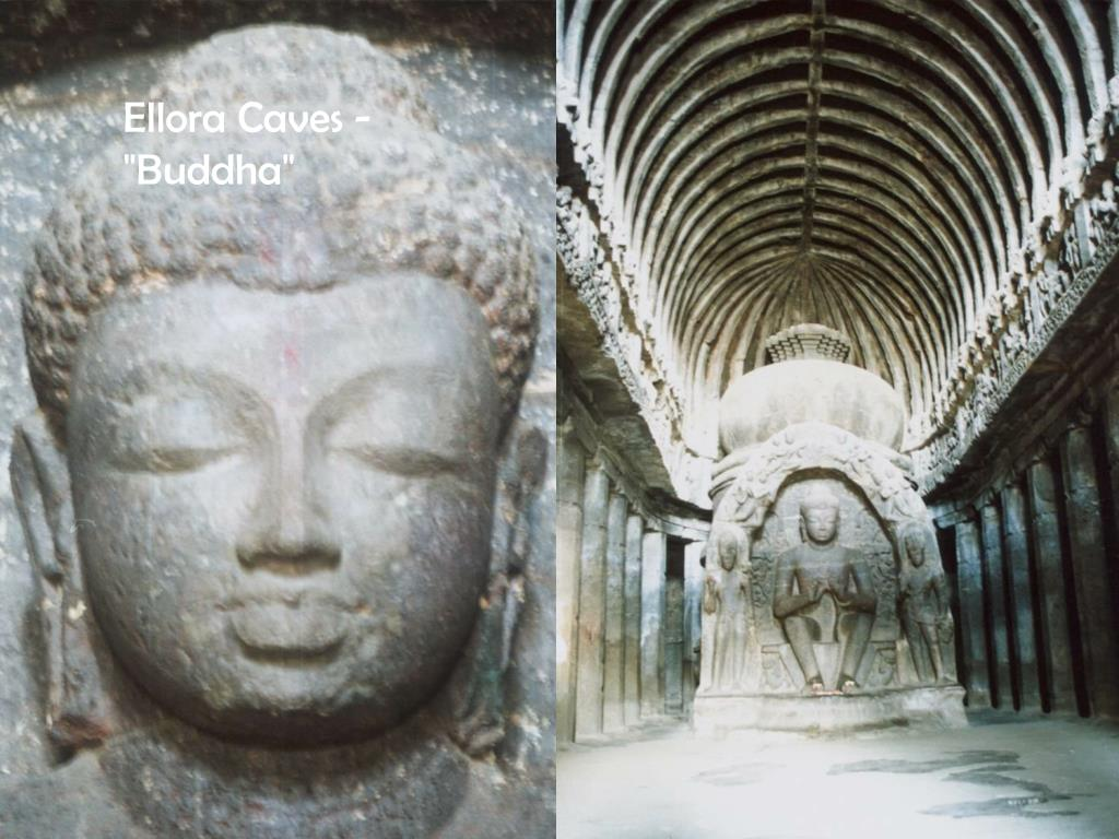 "Ellora Caves - ""Buddha"""