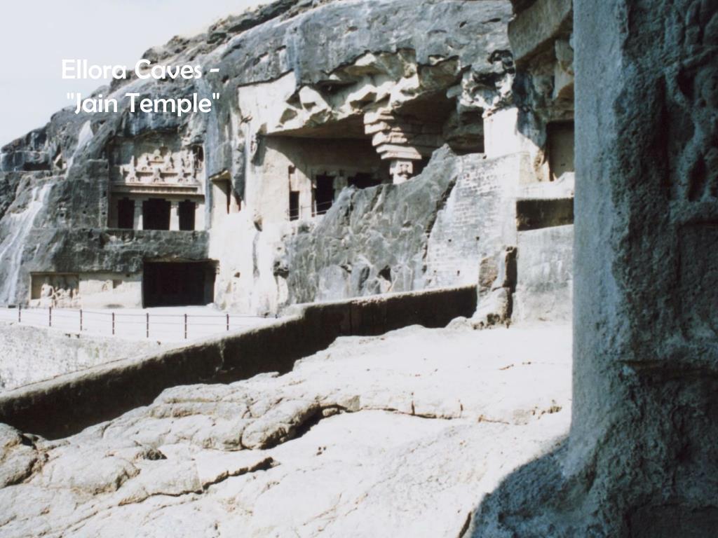 "Ellora Caves - ""Jain Temple"""