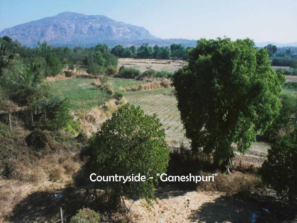 "Countryside - ""Ganeshpuri"""