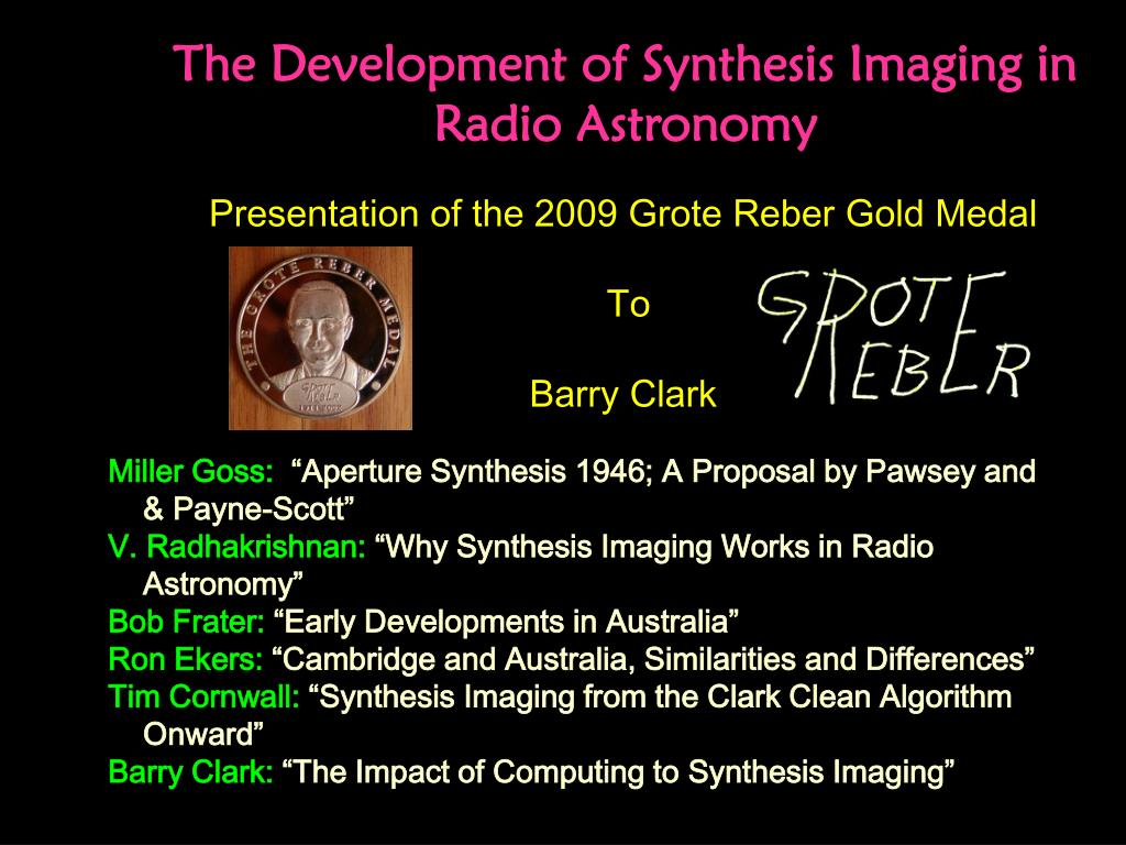 The Development of Synthesis Imaging in Radio Astronomy