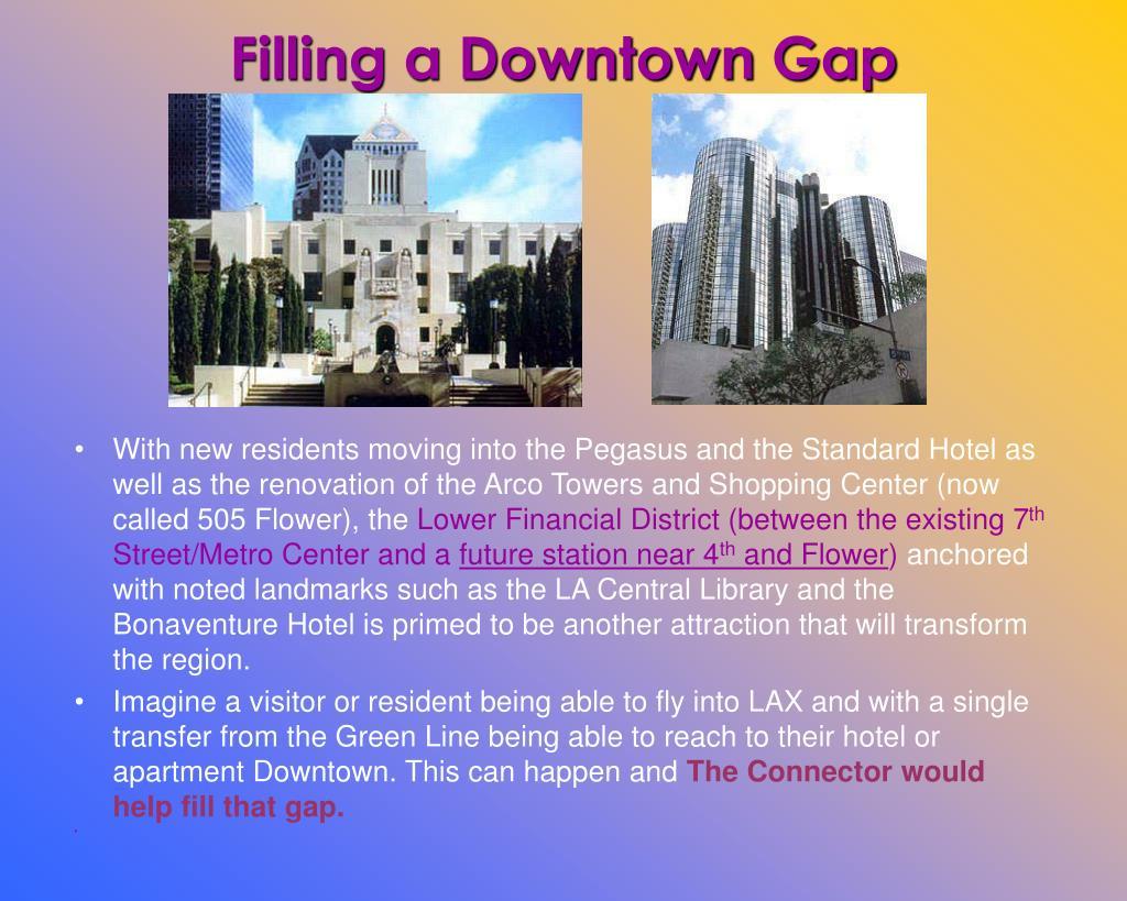 Filling a Downtown Gap