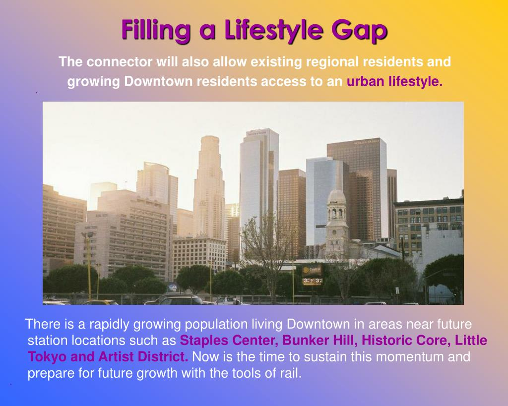 Filling a Lifestyle Gap