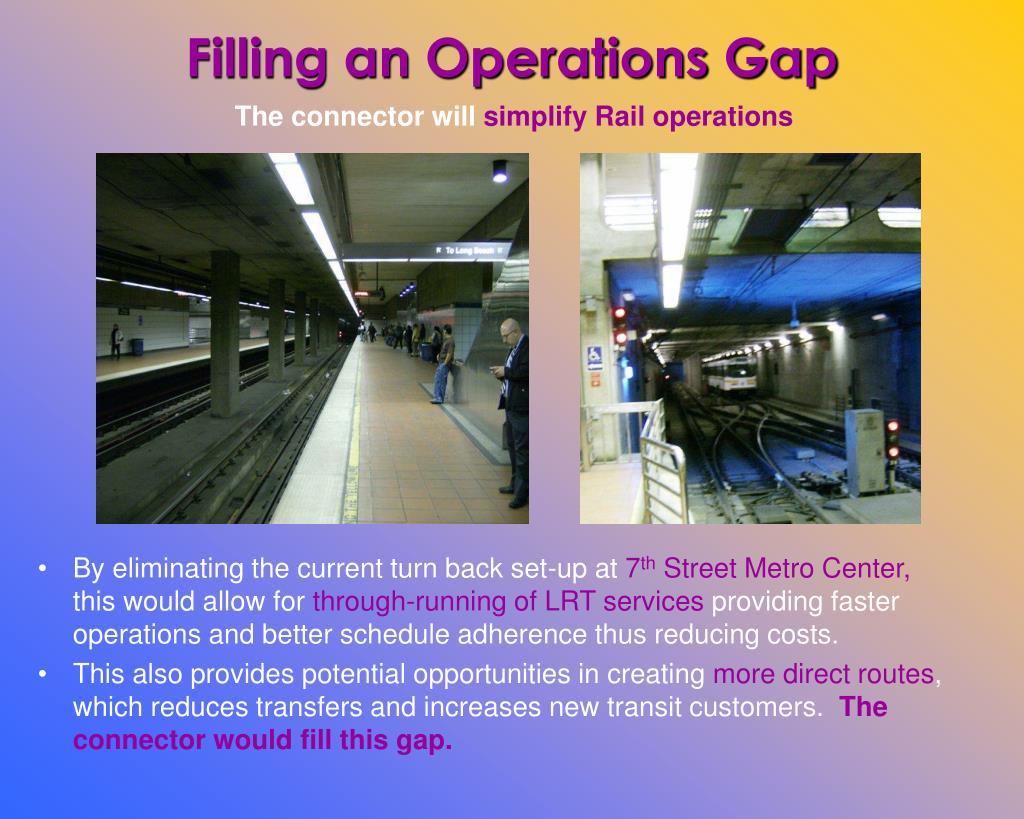 Filling an Operations Gap
