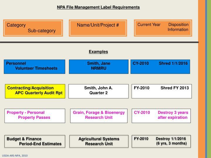 NPA File
