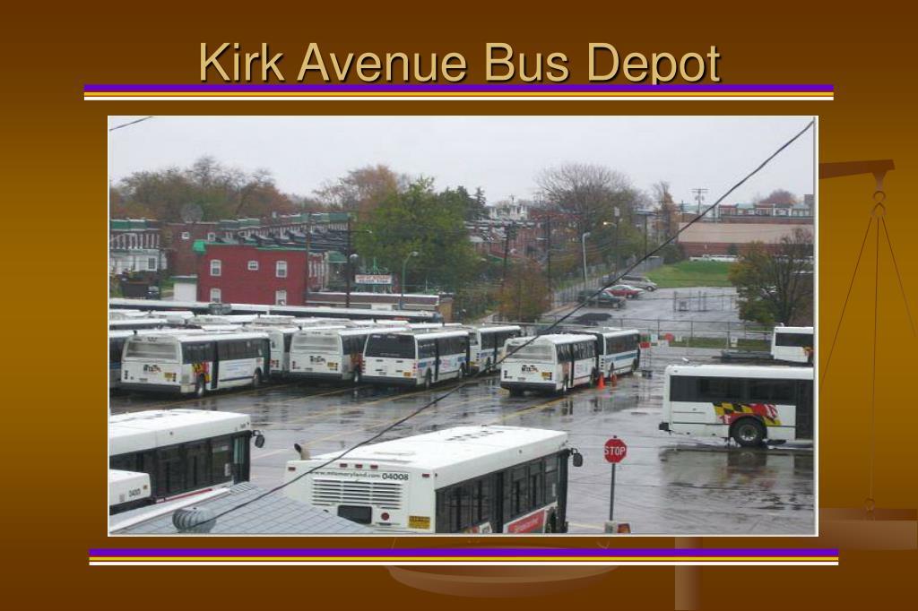 Kirk Avenue Bus Depot
