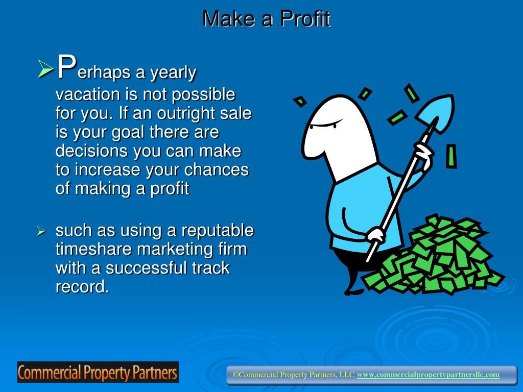 Make a Profit