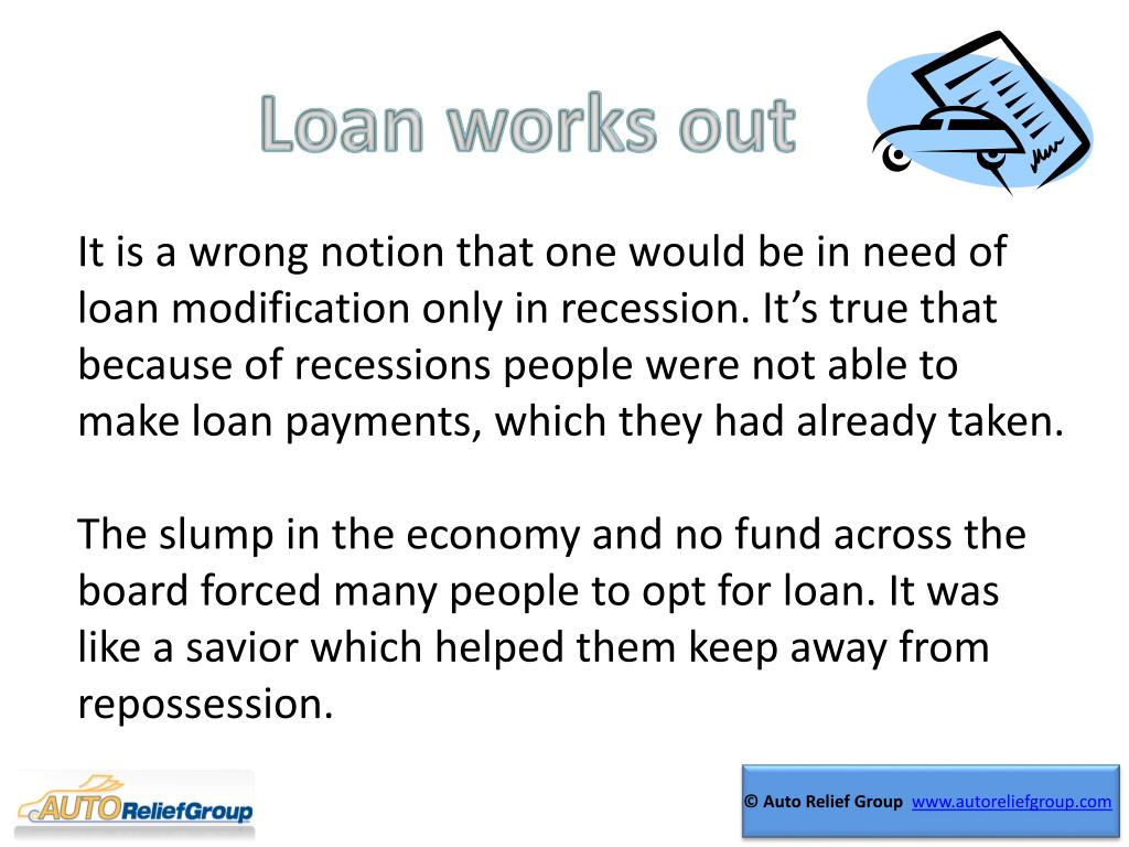 Loan works out