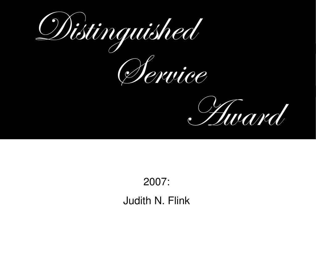 Distinguished