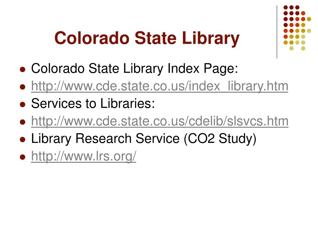 Colorado State Library