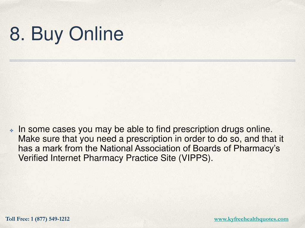 8. Buy Online