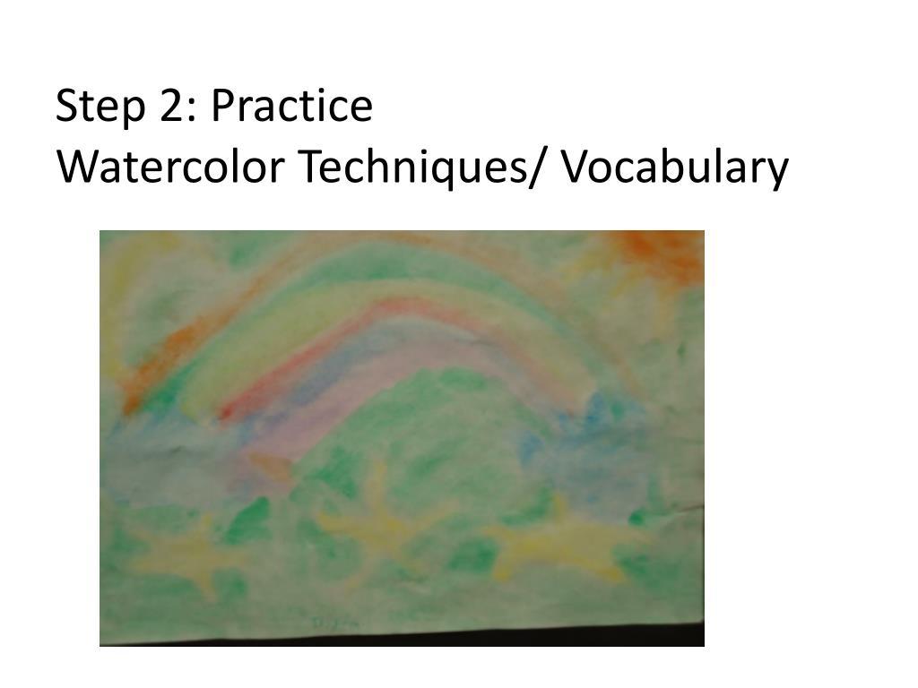 Step 2: Practice