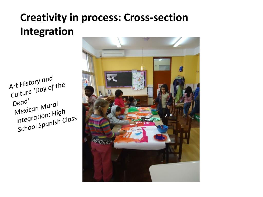 Creativity in process: Cross-section Integration