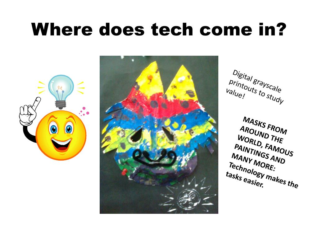 Where does tech come in?