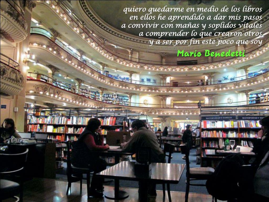 quiero quedarme en medio de los libros