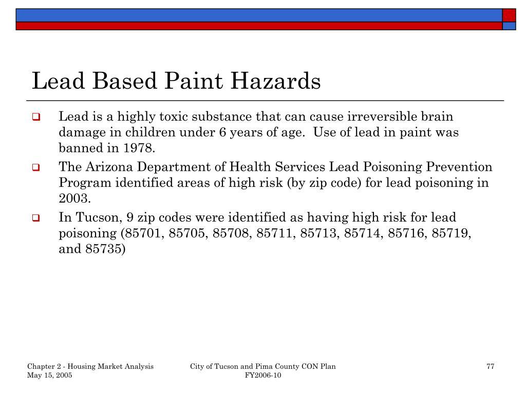 Lead Based Paint Hazards