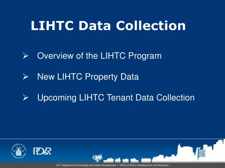 Lihtc data collection