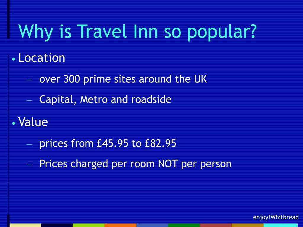 Why is Travel Inn so popular?