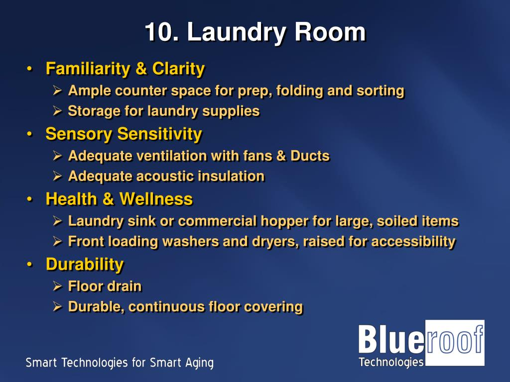 10. Laundry Room