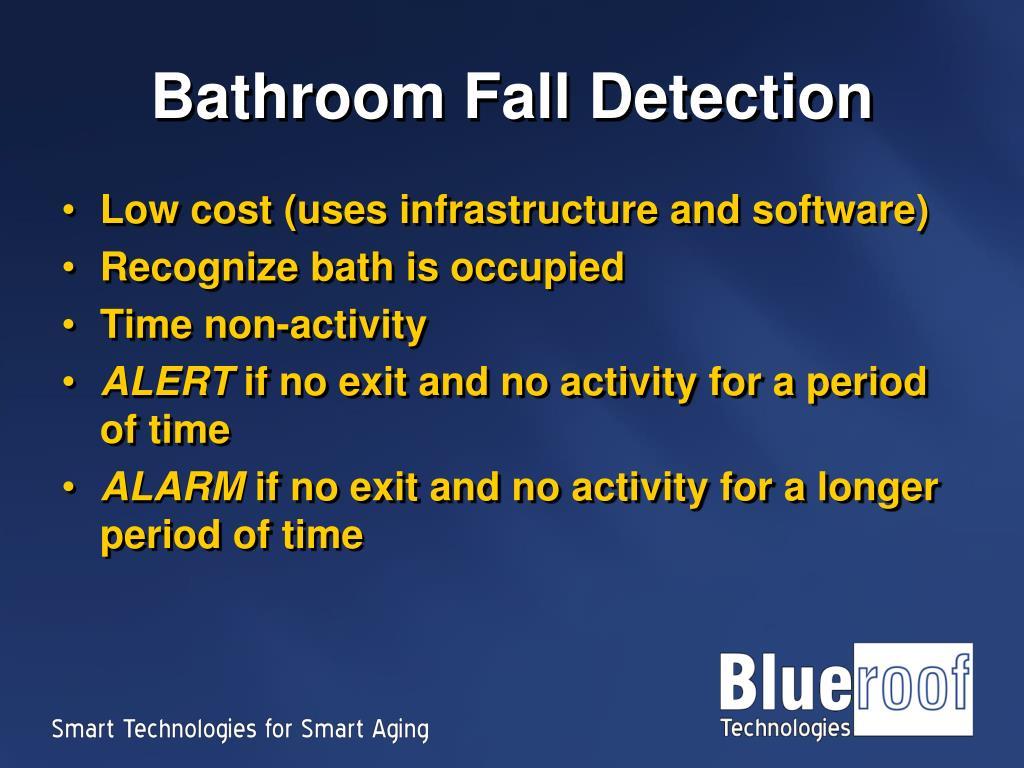 Bathroom Fall Detection