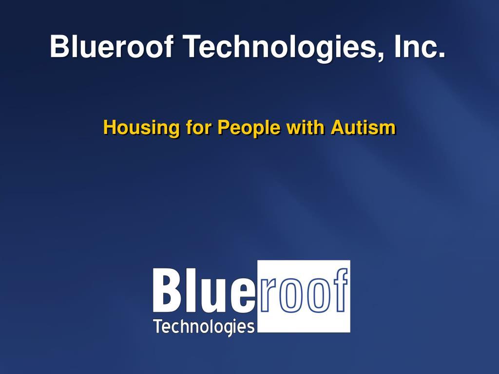 Blueroof Technologies, Inc.