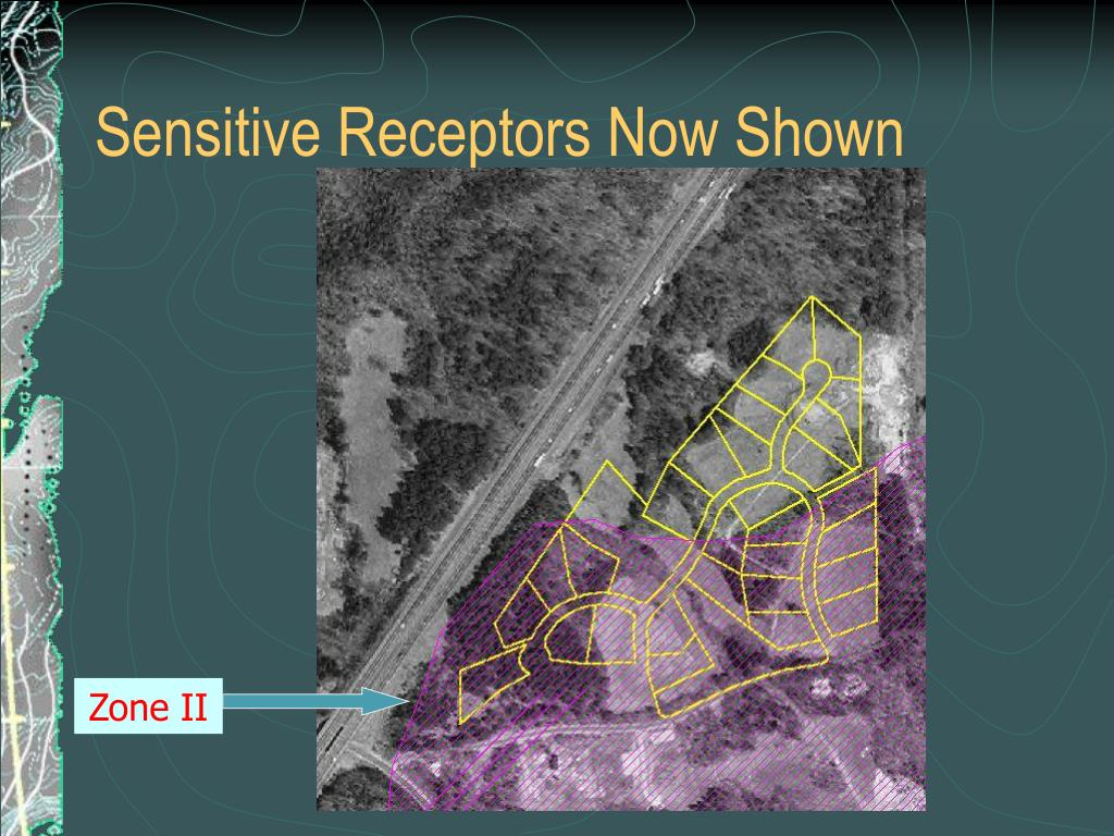 Sensitive Receptors Now Shown