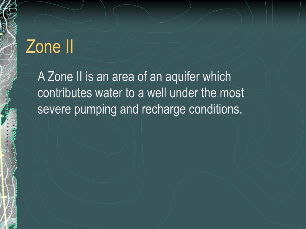 Zone II