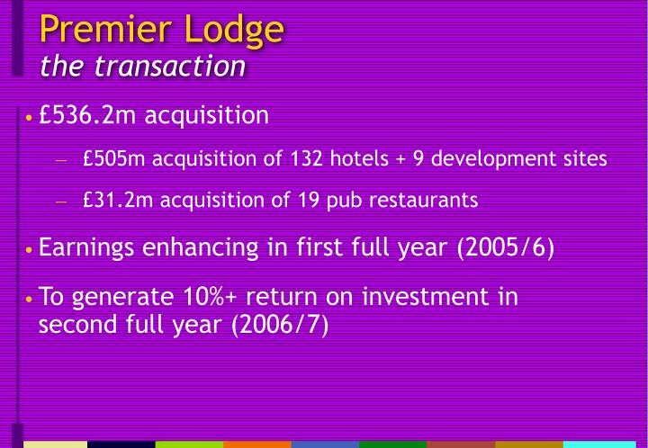 Premier lodge the transaction l.jpg