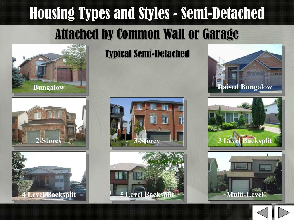 Housing Types and Styles - Semi-Detached
