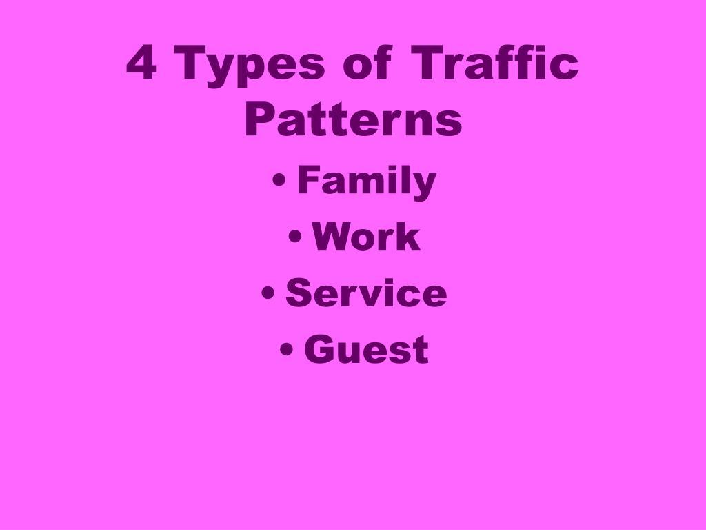 4 Types of Traffic Patterns