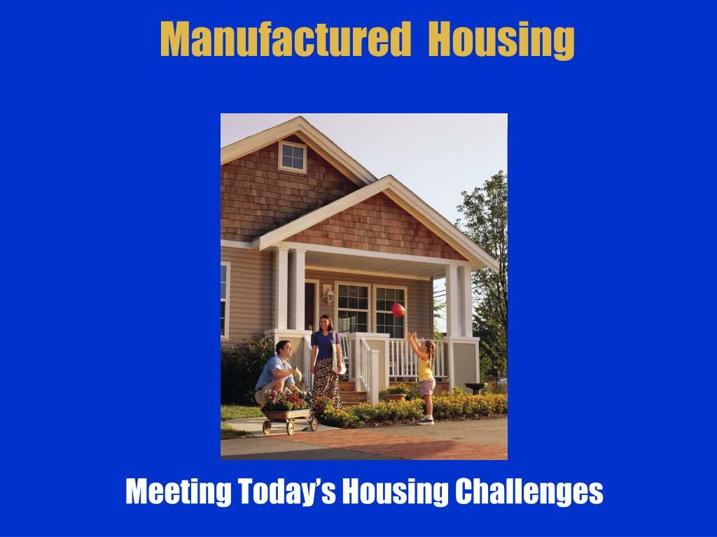 manufactured housing