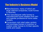 the industry s business model