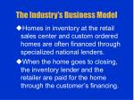 the industry s business model5