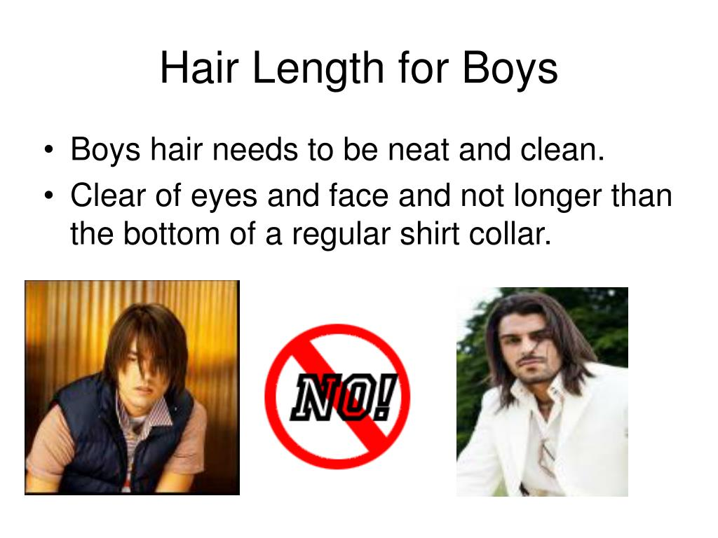 Hair Length for Boys