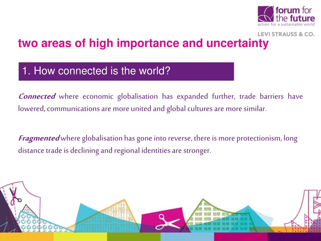 two areas of high importance and uncertainty