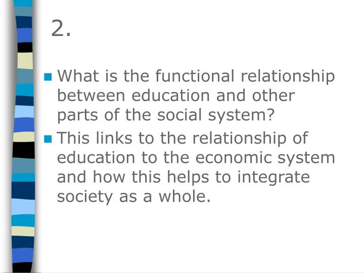 functional relationship in research