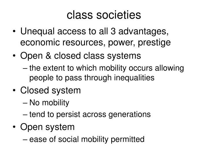 class societies