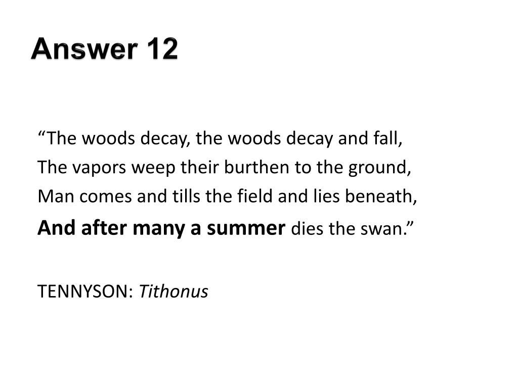 Answer 12