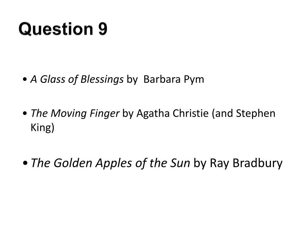 Question 9