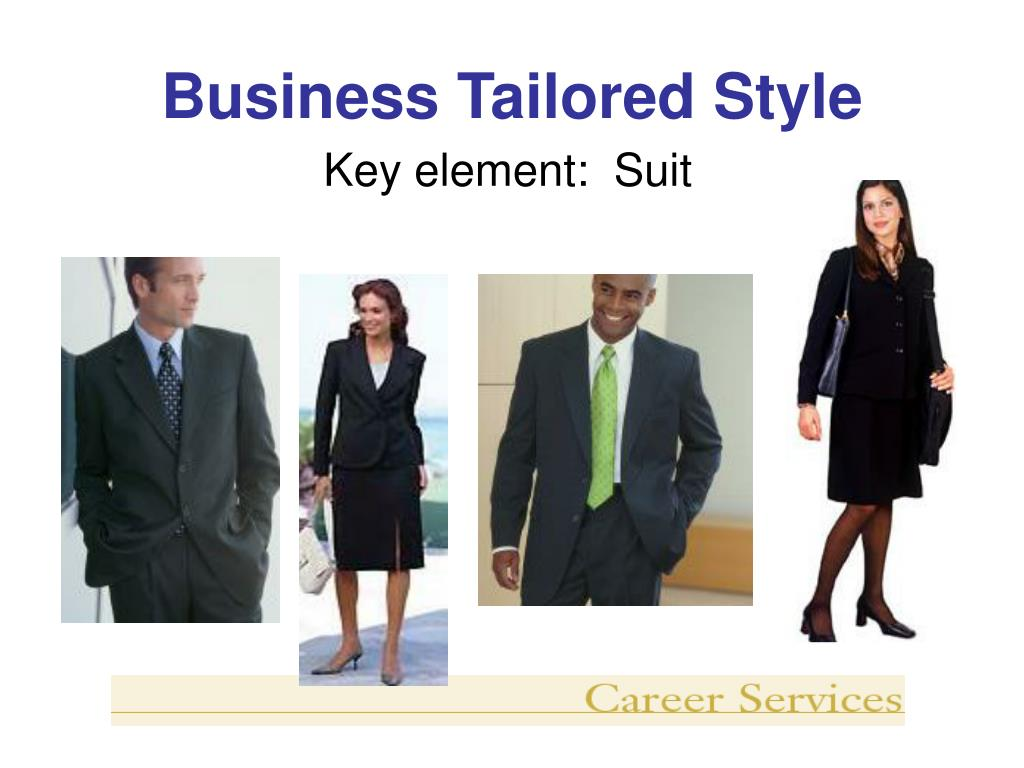 Business Tailored Style