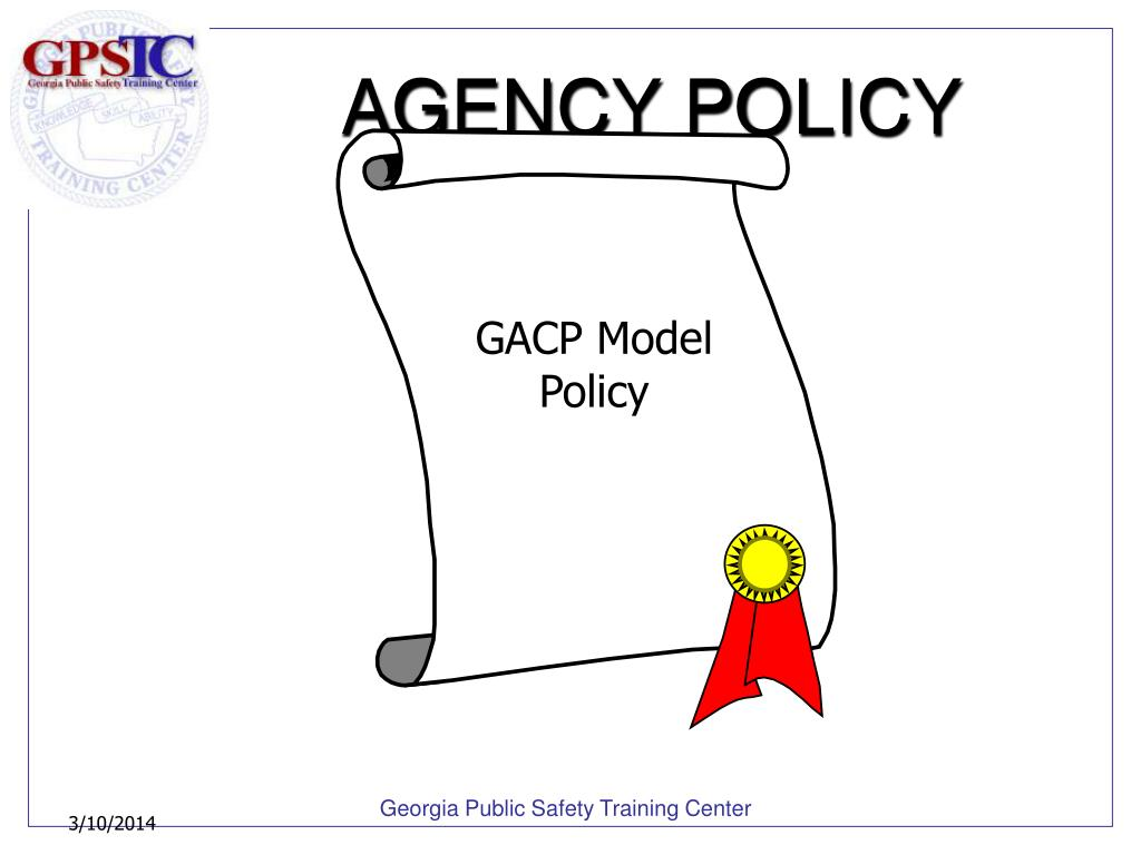 AGENCY POLICY