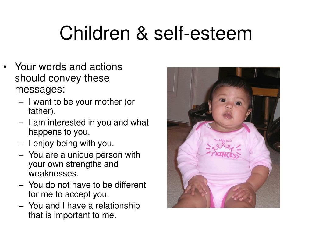 Children & self-esteem