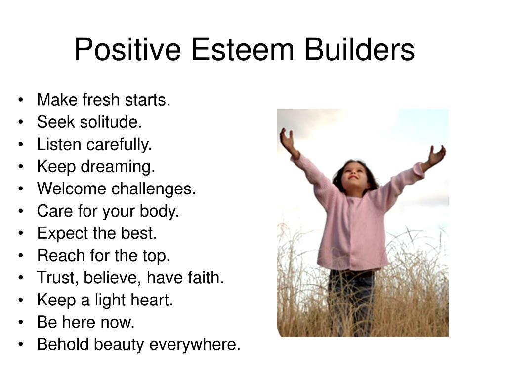 Positive Esteem Builders