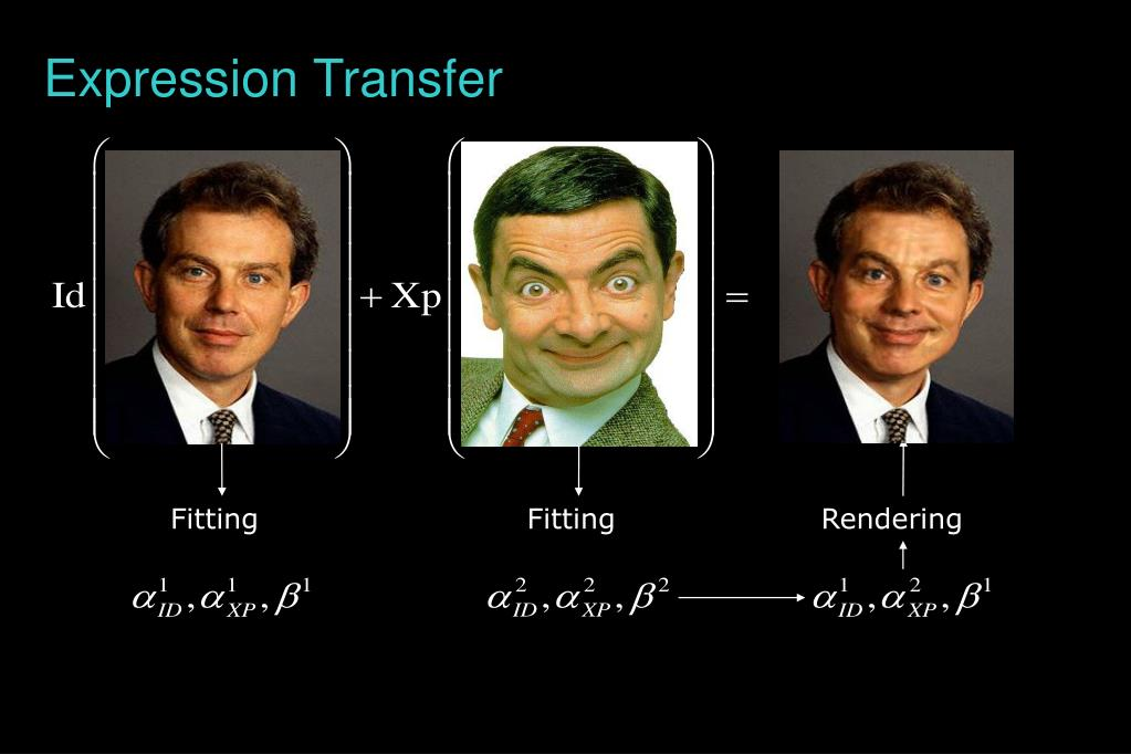 Expression Transfer