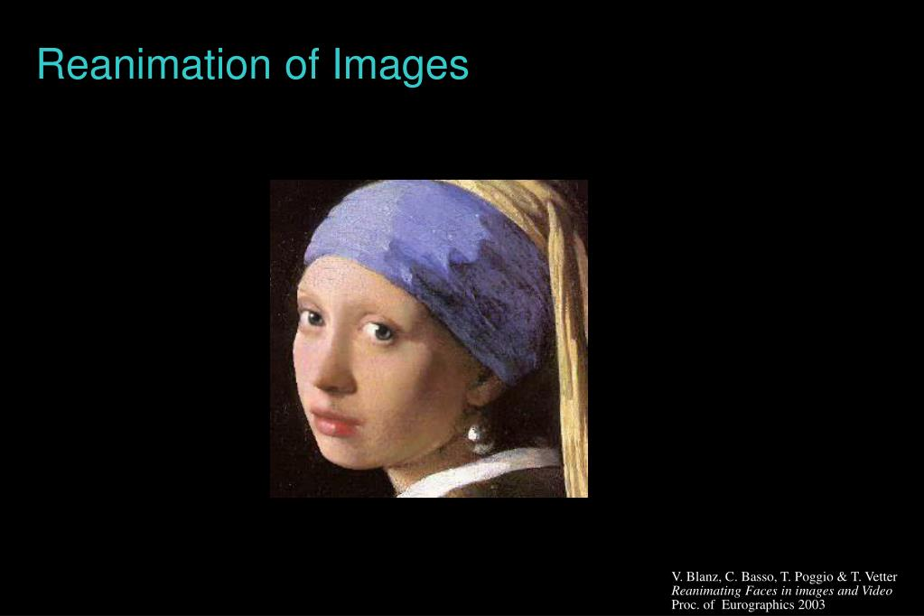 Reanimation of Images
